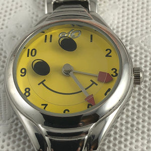 Vintage Happy Face Watch with Rotating Eyes